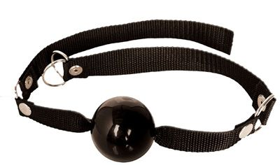 Fetish Fantasy Black Beginners Ball Gag