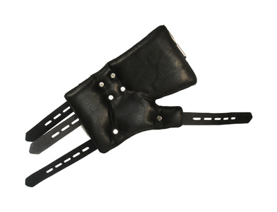 For the serious suspension bondage enthusiast, these cuffs are the ultimate in security and comfort. Start with the generously padded wrist wraps that your sub can wear for longer periods of time without skin irritation or chafing. Then there are the thick, sturdy, 5-notch fully adjustable straps which can be locked down to be sure that there is no chance of escape. There are three heavy-duty D-rings attached to the straps that allow you a variety of possibilities for arranging your suspension scene. Of course, this piece of equipment is completely crafted from the high-quality, durable leather that you can count on from Strict Leather.   Measurements: Cuff inner circumference range from 5 to 8 inches   Material: Leather, Metal   Color: Black   Note: Locks sold separately, Price includes both cuffs, left and right