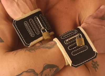 Strict Leather Black Hospital Style Restraints