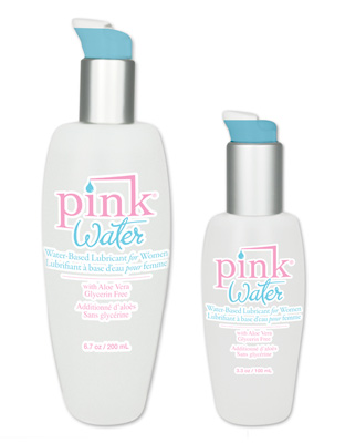 Pink Water-Based Lubricant