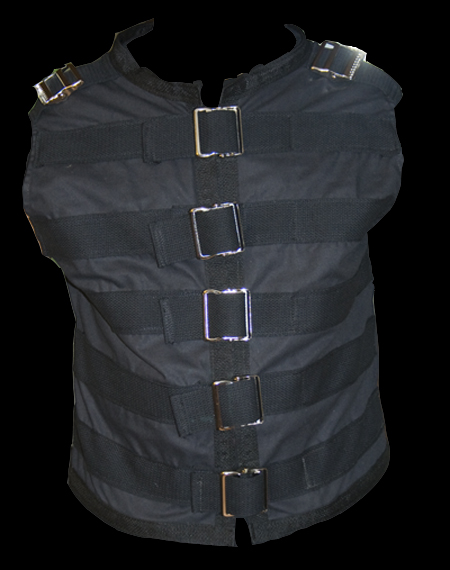 tension buckle vest gothic