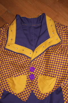 professional clown jacket