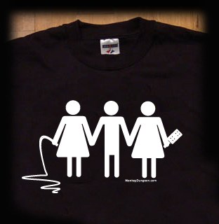 threesome t shirt
