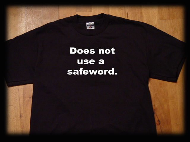 does not use a safeword