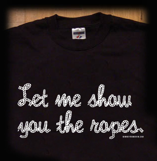 let me show you the ropes bondage t shirt