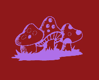 three  mushrooms t shirt
