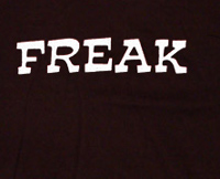 freak funny t shirt