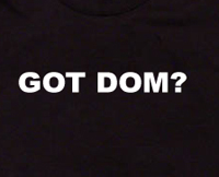 got dom t shirt domination s&m