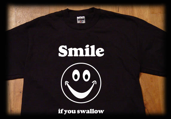 smile if you swallow
