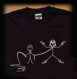 bondage stick figure