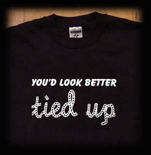 look better tied up t shirt