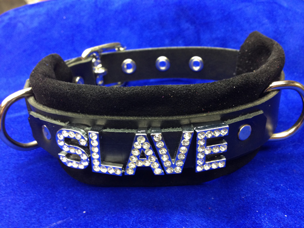 Slave leather collar
