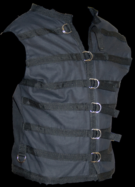 D Ring goth vest