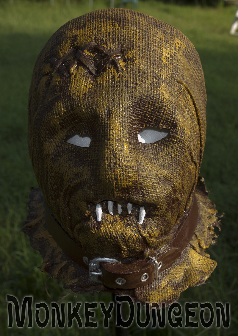 latex vampire scarecrow mask