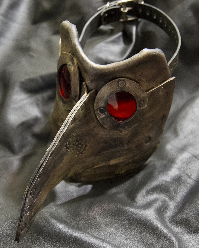 mechanical bird mask
